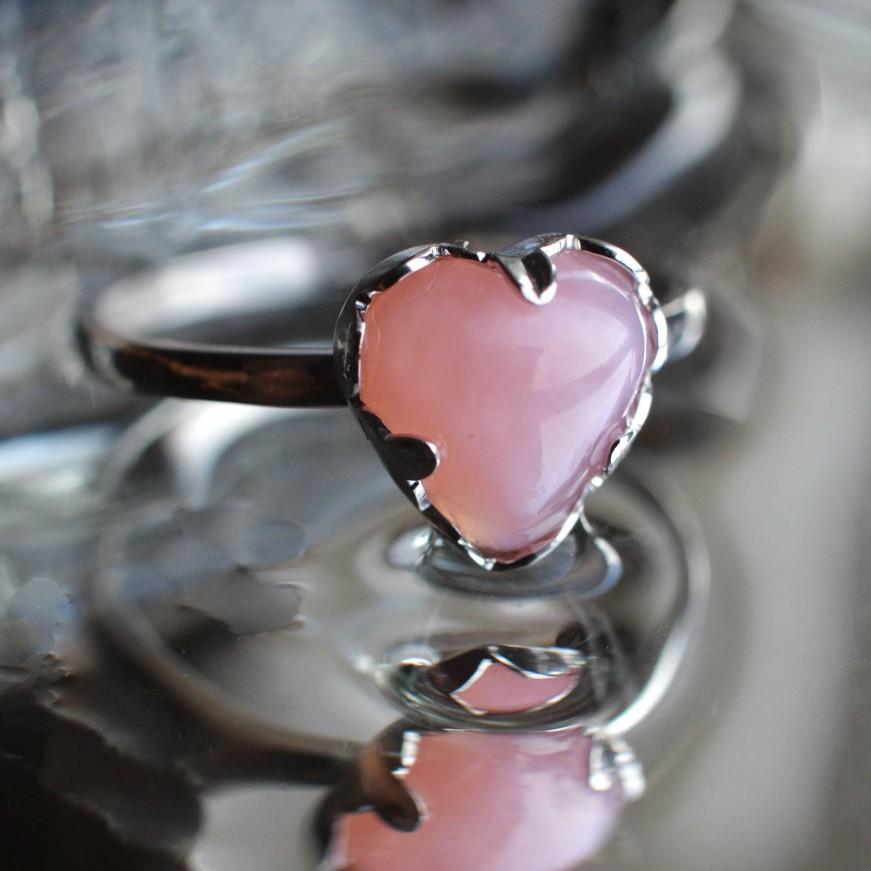 Růžový opál z Peru 53